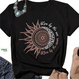 Live by the Sun, Love by the Moon Tee